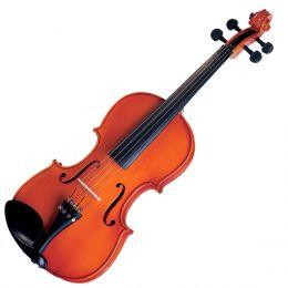 Violino Tradicional Infantil 1/8 VNM08 Verniz Translucido Avermelhado - Michael