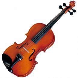 Violino Tradicional Infantil VNM08 1/8 Verniz Translucido Avermelhado - Michael