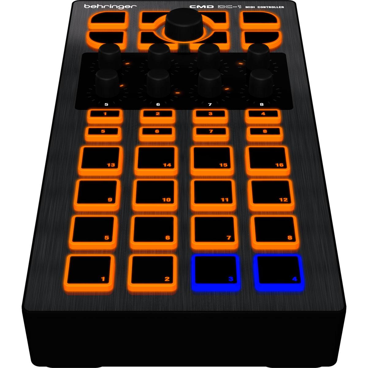Controladora Midi USB DJ CMD DC 1 - Behringer