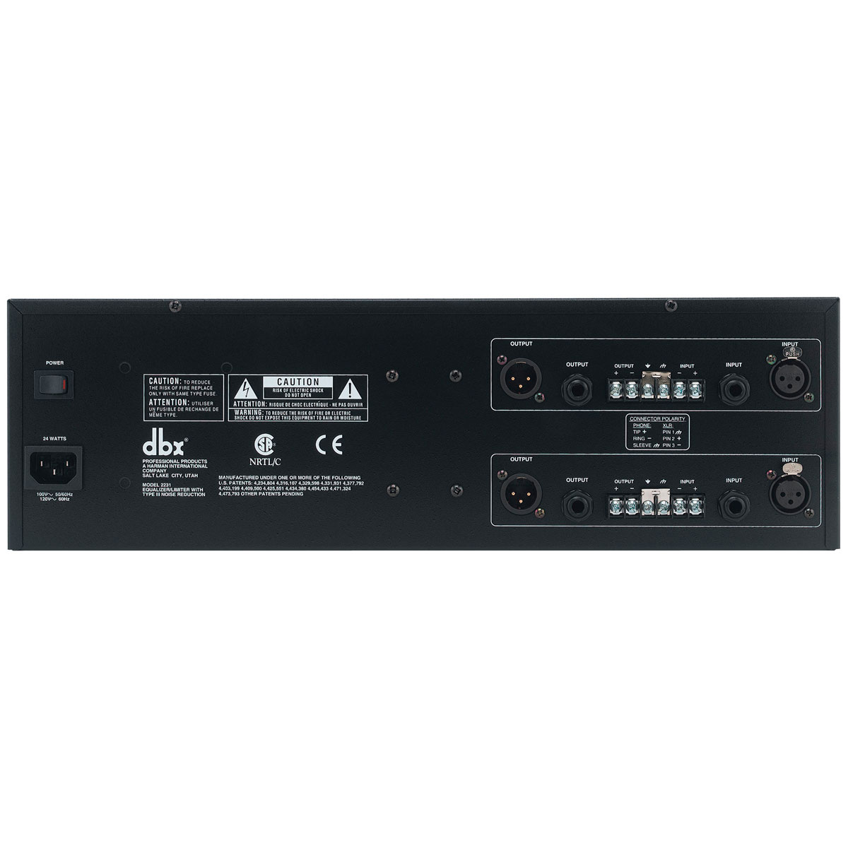 2231 - Equalizador Gráfico 31 Bandas 2231 - DBX