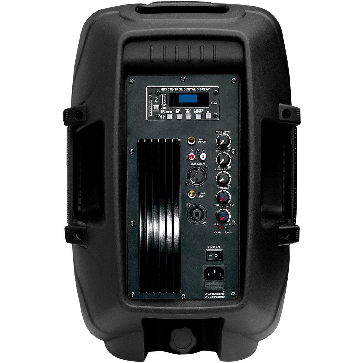 Caixa Ativa Fal 10 Pol 100W c/ USB / Bluetooth CSR 5510 USB BT - CSR