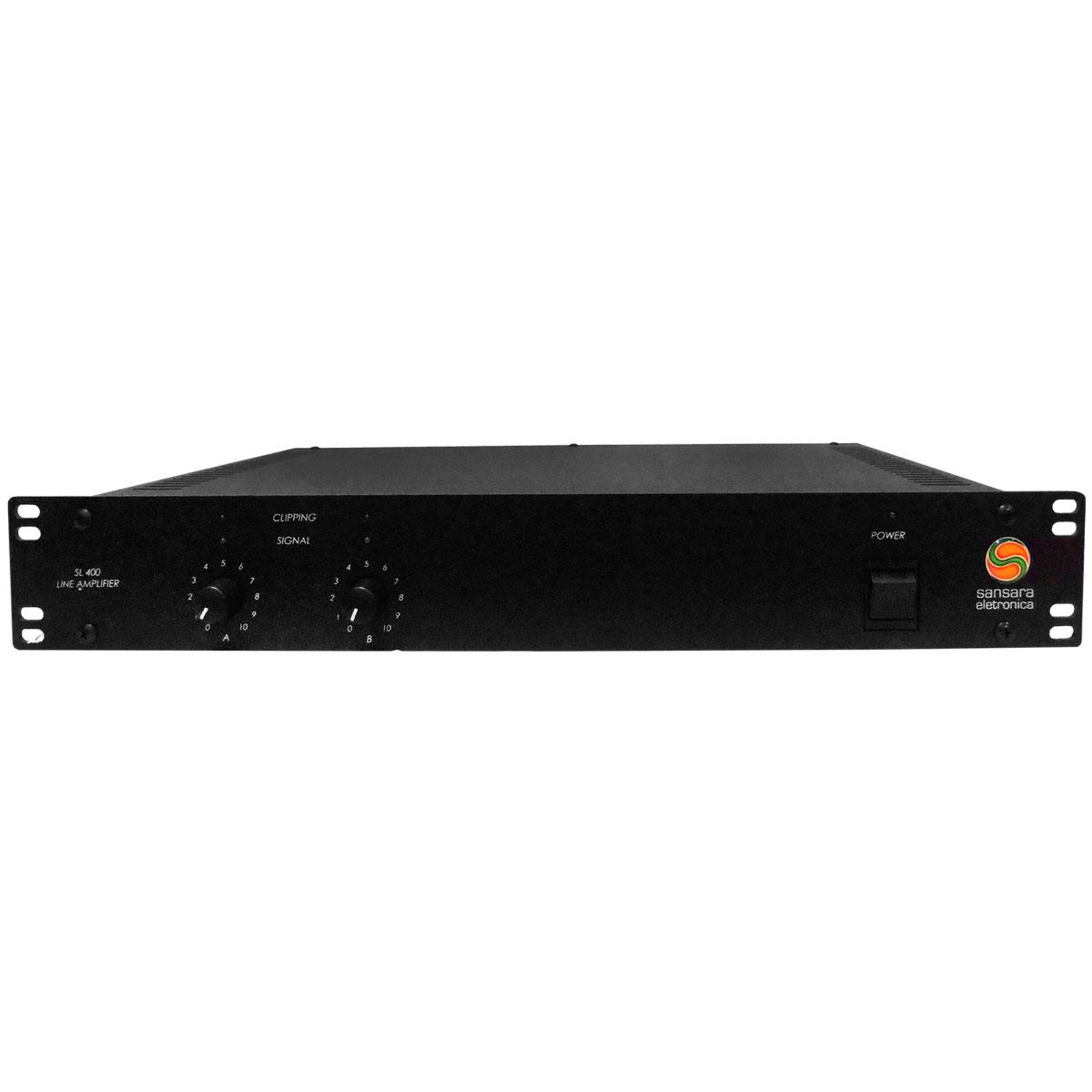 Amplificador de Linha 400W 25 Ohms - SL 400 Sansara