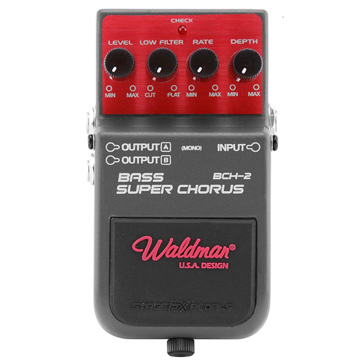 BCH2 - Pedal Contrabaixo Bass Super Chorus BCH 2 - Waldman