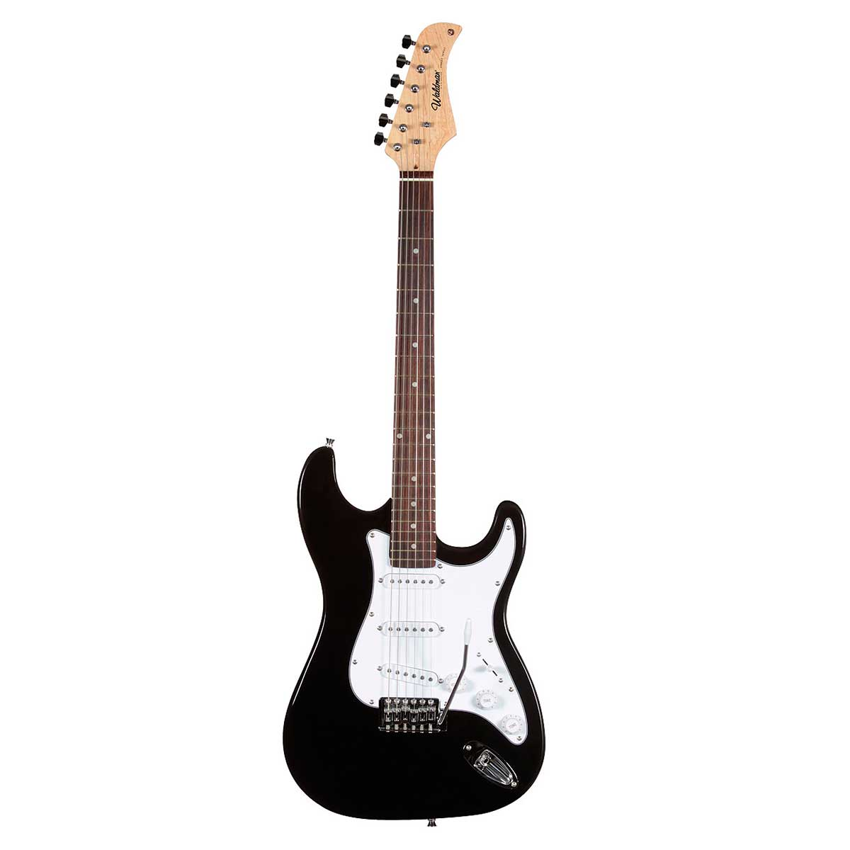 Guitarra ST111 Strato Street Preta ST 111 - Waldman