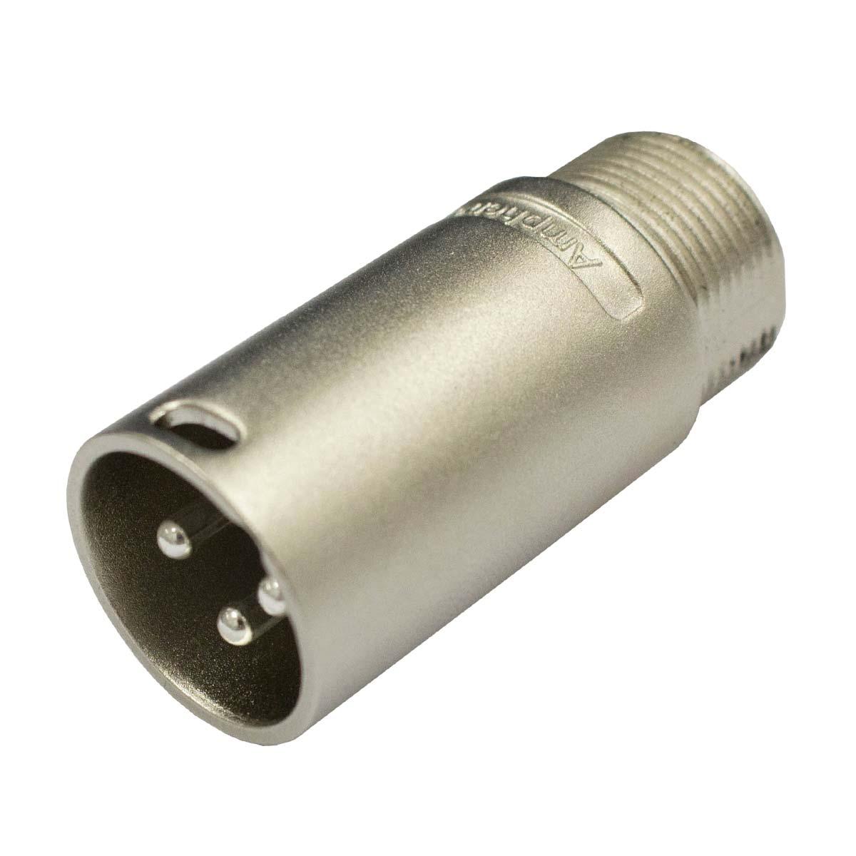 Conector XLR Macho linha - AC 3 MM Amphenol