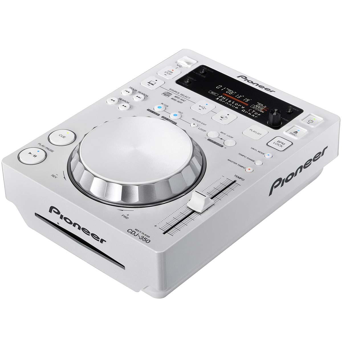 CDJ350 - CDJ Player c/ USB CDJ 350 Branco - Pioneer