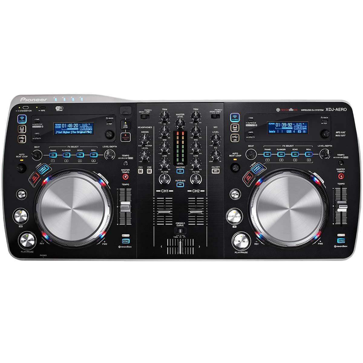 XDJAERO - Controladora DJ c/ Wireless XDJ AERO Preta - Pioneer