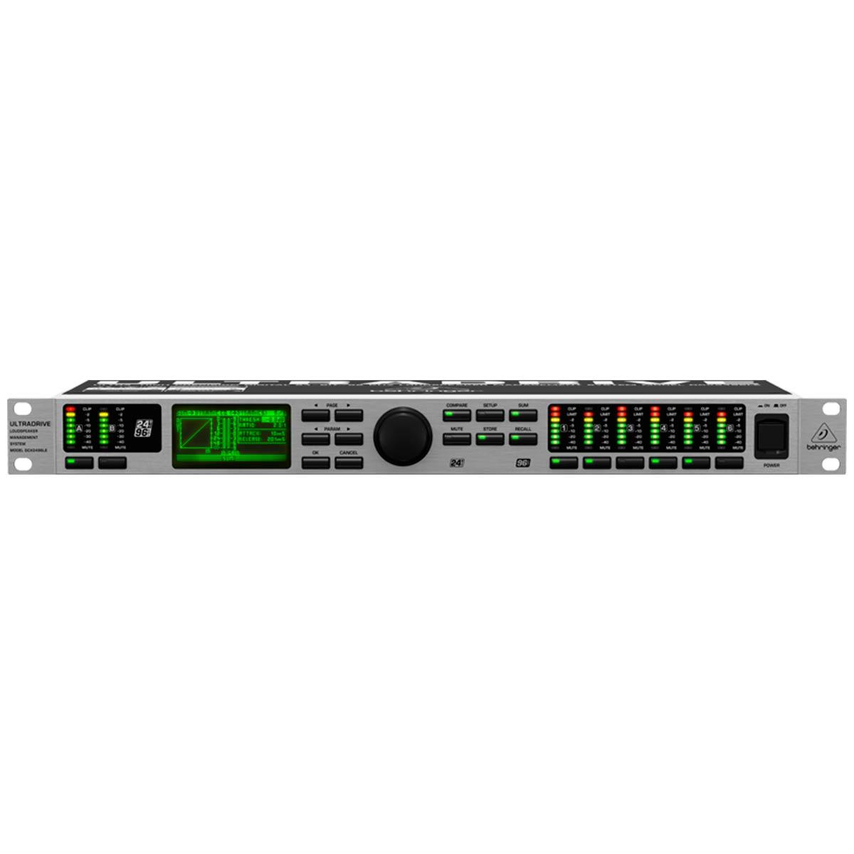 DCX2496LE - Processador de Áudio Ultradrive DCX 2496 LE - Behringer