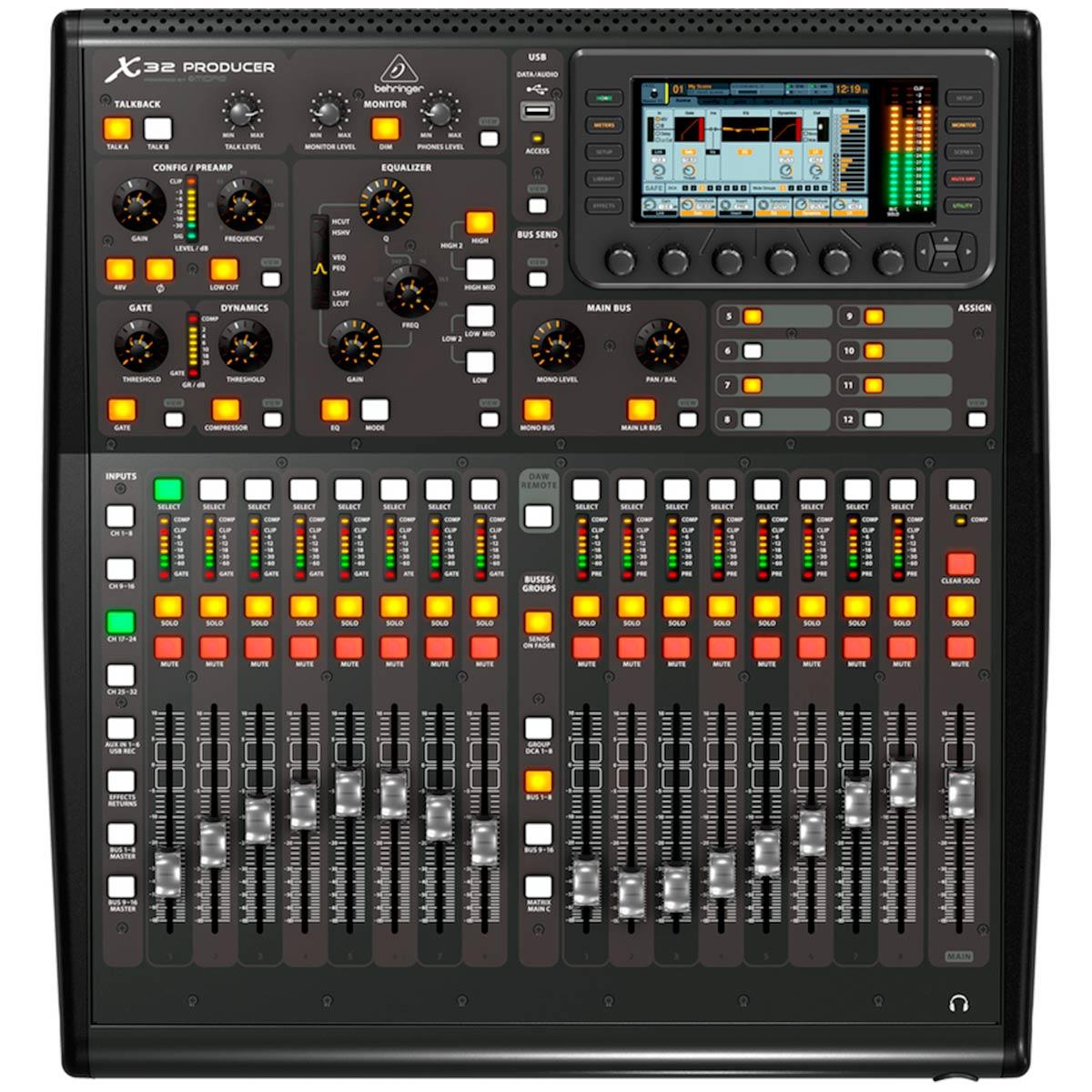 X32Producer - Mesa de Som / Mixer Digital 16 Canais ( Expansível ) X 32 Producer - Behringer