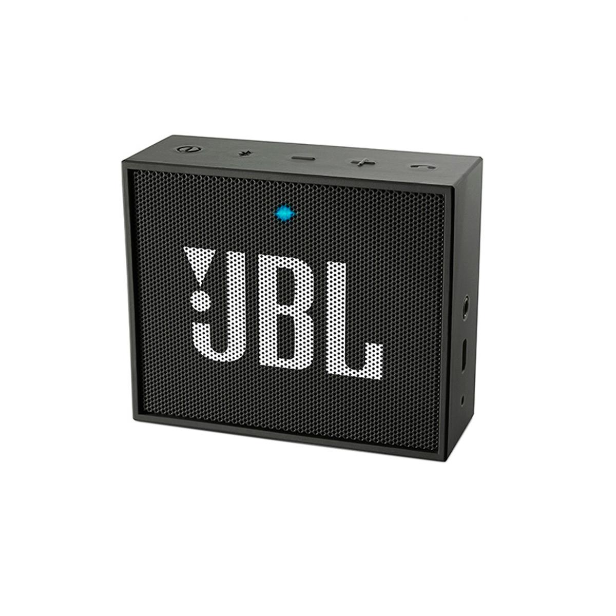 JBLGO - Caixa de Som Portátil 3W c/ Bluetooth JBL GO Preto - JBL