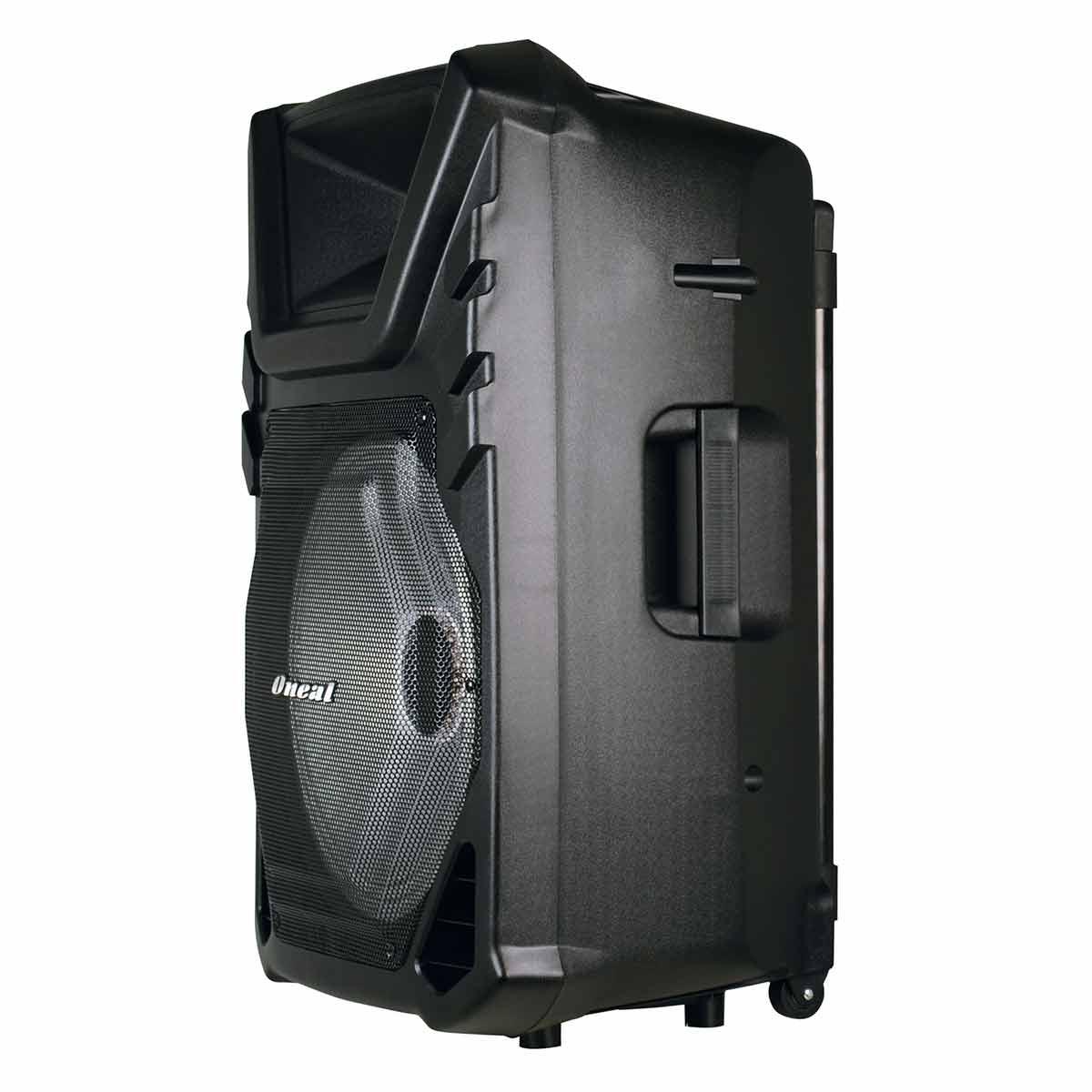 Caixa Portátil Fal 15 Pol 120W c/ USB / Bluetooth / Bateria - OMF 450 Oneal