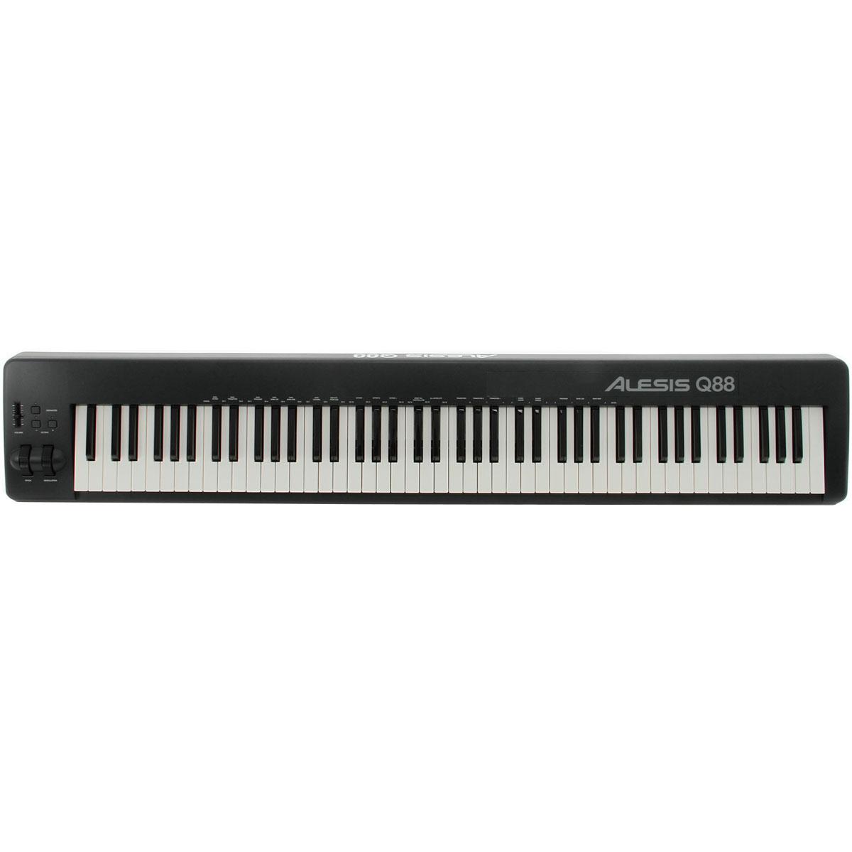Teclado Controlador MIDI / USB Q 88 - Alesis