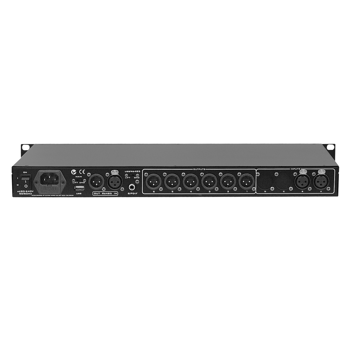 Processador de Áudio ODP 260 - Oneal