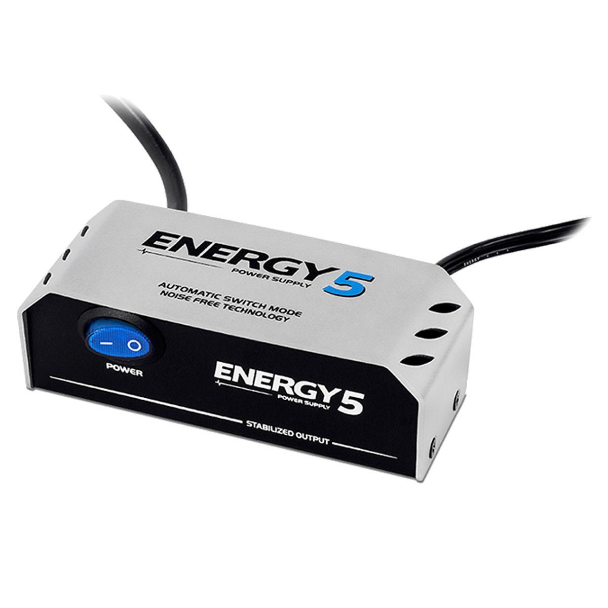 Fonte Automática de 5 Plugs 9V DC 1000mA - Energy 5 Landscape