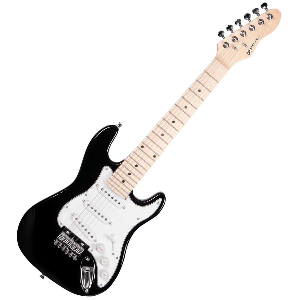 Guitarra Strato Infantil Standard GM219 BK Preta - Michael