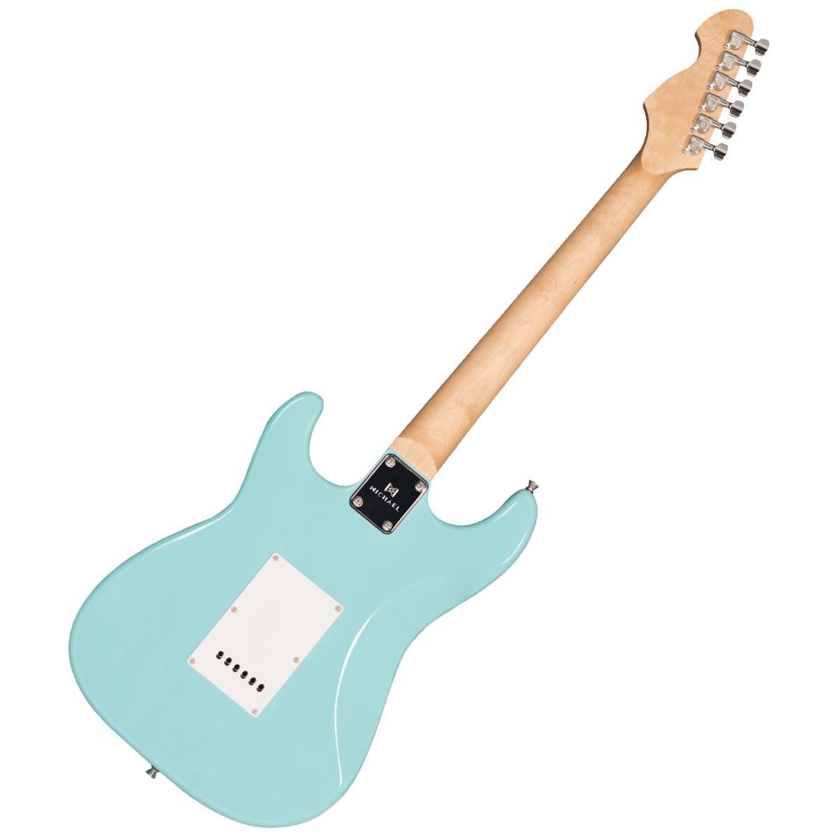 Guitarra Strato Standard GM217N LB Azul Claro - Michael