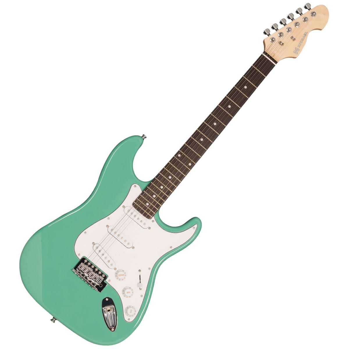 Guitarra Strato Standard GM217N LG Verde Claro - Michael