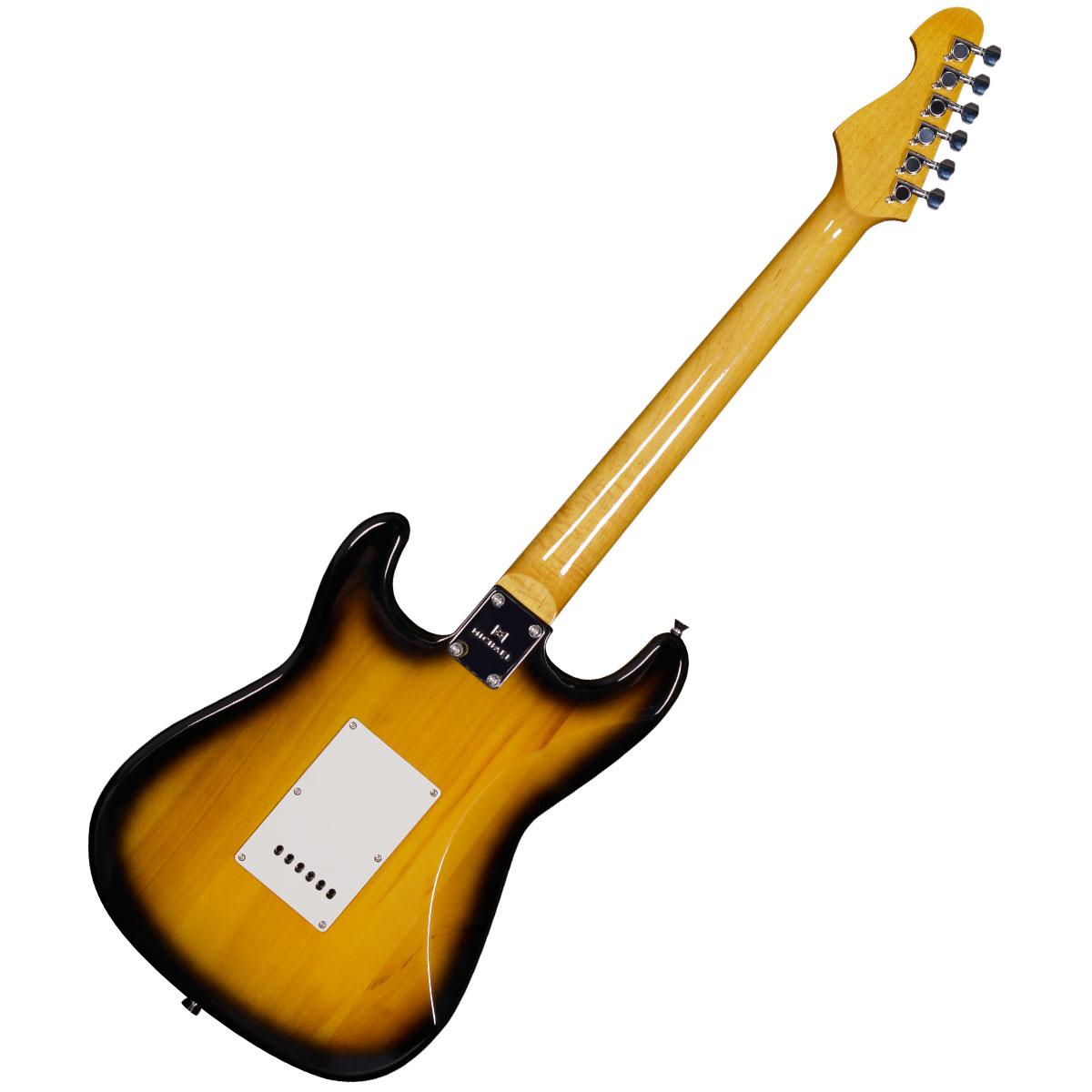 Guitarra Strato 6 Cordas 22 Trastes - Stonehenge GM 222 N VS Michael