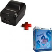 Impressora Fiscal T�rmica FS 700 MACH1 Preta (Serrilha) - Daruma + SIC (Sistema Integrado Comercial)