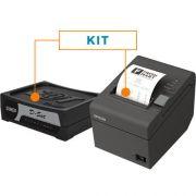 Kit SAT Fiscal D-SAT - Dimep + Impressora N�o Fiscal T�rmica TM-T20 - Epson