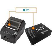 Kit SAT Fiscal DS100i + Impressora N�o Fiscal T�rmica DR800 H - Daruma