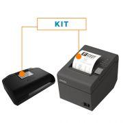 Kit SAT Fiscal GERSAT - Gertec + Impressora Não Fiscal Térmica TM-T20 - Epson