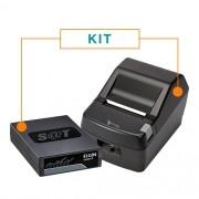 Kit SAT Fiscal Linker SAT II - Elgin + Impressora Não Fiscal Térmica DR800 L - Daruma