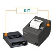 Kit SAT Fiscal Linker SAT II - Elgin + Impressora Não Fiscal Térmica TM-T20 - Epson