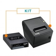 Kit SAT Fiscal Linker SAT II + Impressora Não Fiscal Térmica i9 - Elgin