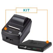 Kit SAT Fiscal RB-1000 FI - Bematech + Impressora Não Fiscal Térmica DR800L - Daruma