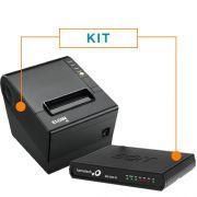 Kit SAT Fiscal RB-1000 FI - Bematech + Impressora Não Fiscal Térmica i9 - Elgin