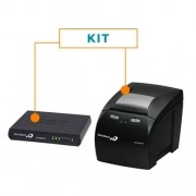Kit SAT Fiscal RB-2000 FI + Impressora Não Fiscal Térmica MP-4200 TH - Bematech