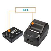 Kit SAT Fiscal SAT-CFE TS-1000 - Tanca + Impressora Não Fiscal Térmica DR800 L - Daruma