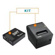 Kit SAT Fiscal SAT-CFE TS-1000 - Tanca + Impressora Não Fiscal Térmica i9 - Elgin