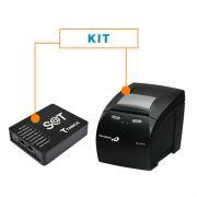 Kit SAT Fiscal SAT-CFE TS-1000 - Tanca + Impressora Não Fiscal Térmica MP-4200 TH - Bematech