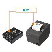 Kit SAT Fiscal SAT-CFE TS-1000 - Tanca + Impressora Não Fiscal Térmica TM-T20 - Epson