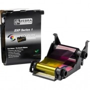 Ribbon Colorido YMCKO ZXP Série 1 - Zebra