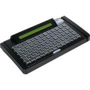 Teclado Program�vel TEC-E 65 com Display e Leitor Trilha 2 Preto - Gertec