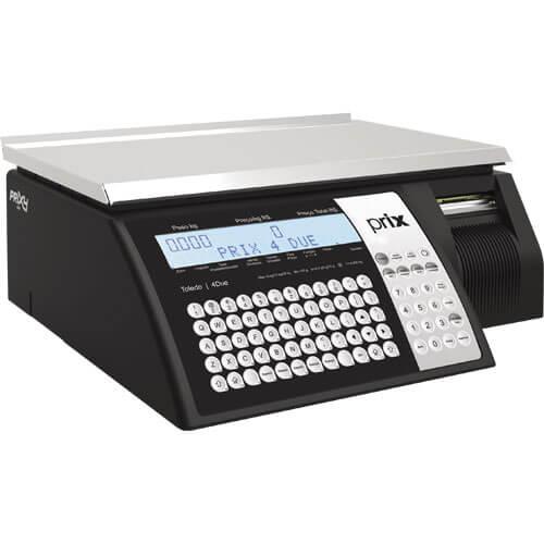 Balança Pdv Toledo Prix4due 30 Kg Com Impressora - Serial