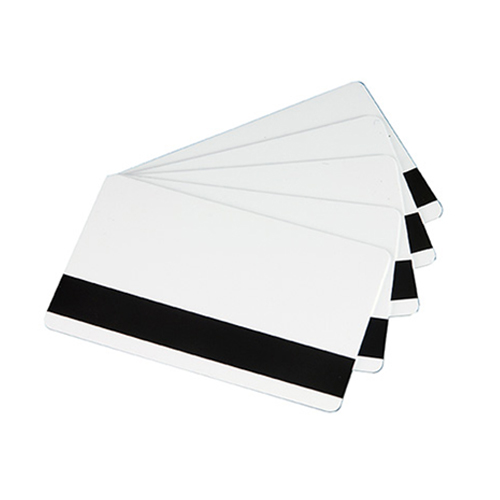 Cartão PVC Branco de 30 mil com Tarja (500 Unidades)  - Datacard