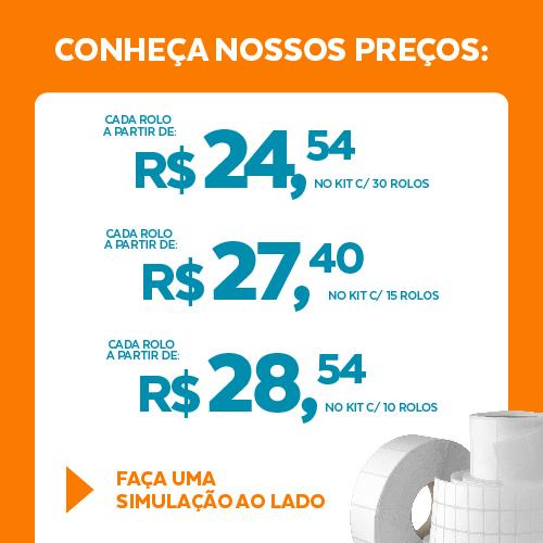 Etiqueta Couchê Cartão TAG Confecção Branca 35 x 60 x 03 (Com picote serrilhado 20 mm) - ID Etiquetas