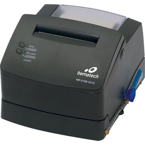 Impressora Fiscal Térmica MP-2100 TH FI - Bematech + Lacração Grátis