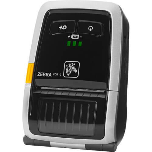 Impressora Portátil de Cupom ZQ110 - Zebra