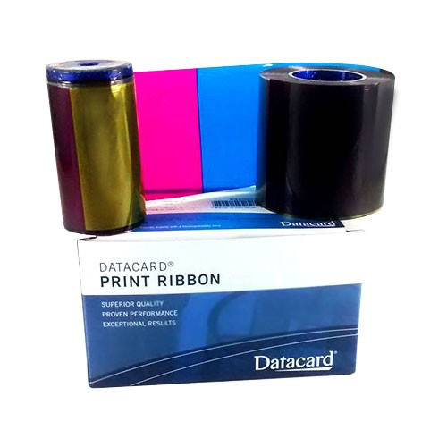 Kit Ribbon Colorido YMCKT SD260/SD360/SP35/SP55 - Datacard