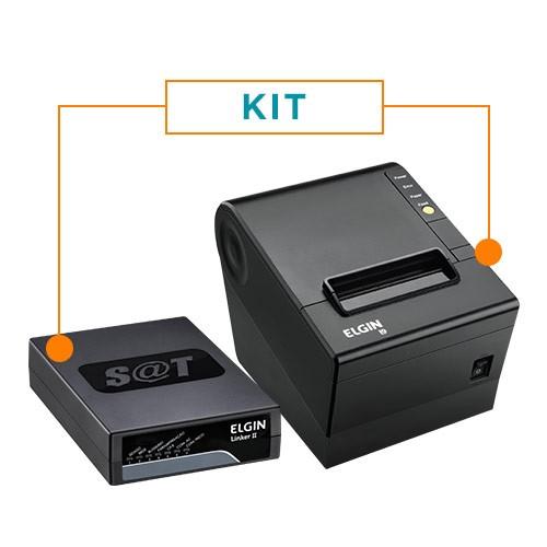 Kit SAT Fiscal Linker SAT + Impressora Não Fiscal Térmica i9 - Elgin