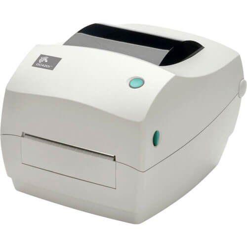 Kit Impressora GC420t Zebra + Leitor QW2100 c/ Suporte Datalogic  - ZIP Automação