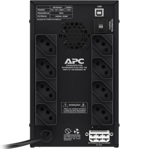 Nobreak Back-UPS BZ1500PBI-BR 1500VA - Entrada Bivolt - APC