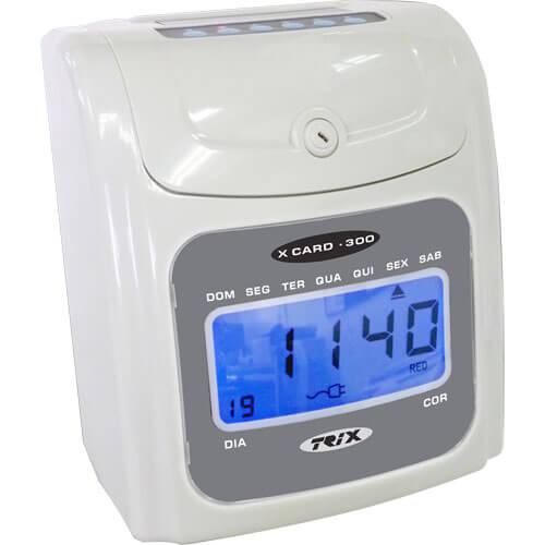 Relógio de Ponto Cartográfico X Card - 300 - Trix Tecnologia