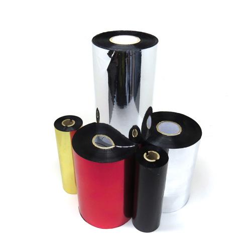 Ribbon Resina Z400 110 mm x 450 m (S4M / ZT230 / ZT410 / ALLEGRO FLEX / M-4206 / PD42) - Mastercorp