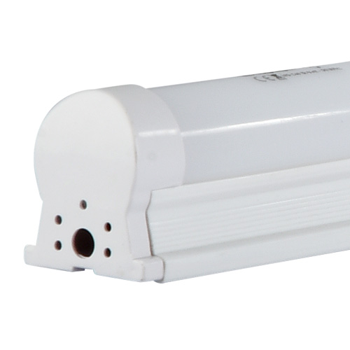 Lâmpada LED Tubular C/Calha T8L 9W 60CM/6500K Bi-Volt EQQO Branca (800 Lumens)